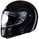 Studds Full Face Helmet Ninja 3G (Eco Black, XL)