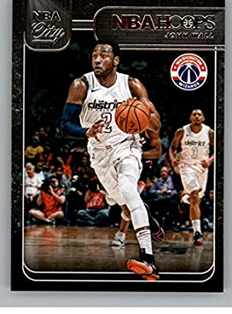 2018-19 Panini Hoops NBA City  5 John Wall Washington Wizards Basketball  Card 0f1806a93