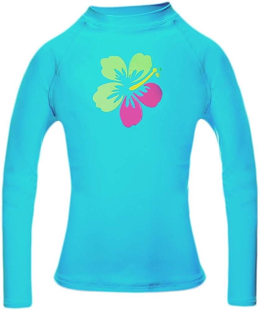 Gymboree Size 5 6 Rash Guard Swim Shirt CHILL Navy Blue Lime Green UPF 50 Boys