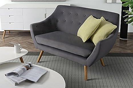 My-Furniture - Poeta sofá Retro Tono de Patas de Madera de ...
