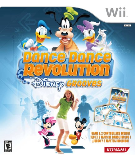 (Dance Dance Revolution Disney Grooves Includes Two Dance Mats - Nintendo Wii)
