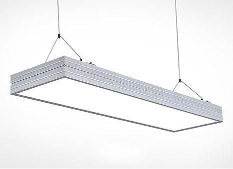 Yjh illuminazione da ufficio lampada da incasso a lampadario a