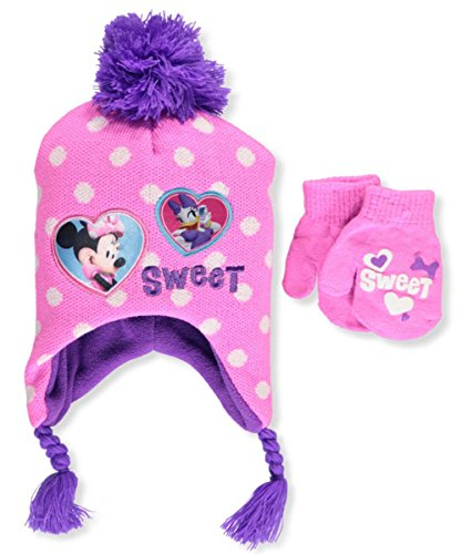 7edea90506d61 Disney Infant   Toddler s Minnie Mouse Hat and Mitten Winter Set - Buy  Online in Oman.