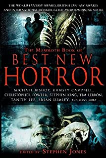 Publication Order of Mammoth Book of Best New Horror Books