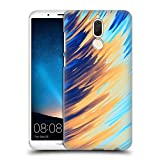 Official Andi Greyscale Two Sides of One Extreme Abstract Marbling Hard Back Case Compatible for Huawei Mate 10 Lite