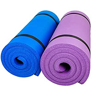 Yoga Mat Extra Gruesa con Correa - Mat Entrenamiento de Yoga ...