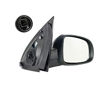 schwarz für OPEL CORSA B Außenspiegel Rechts Konvex Man