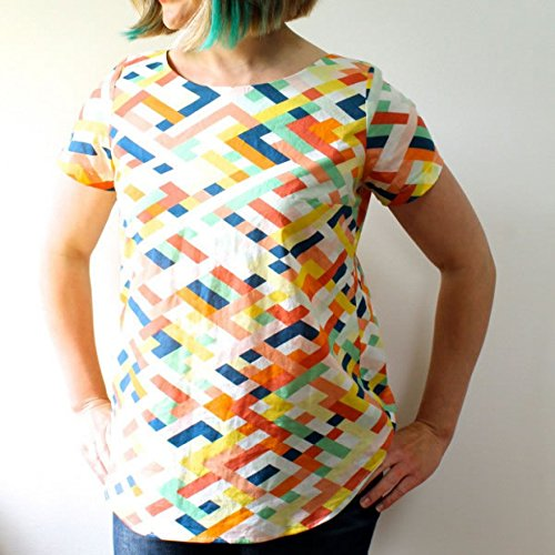 Made By Rae Ladies Easy Sewing Pattern Beatrix Top