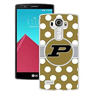 New Unique Custom Designed Case With Ncaa Big Ten Conference Football Purdue Boilermakers 5 White For LG G4 Phone Case
