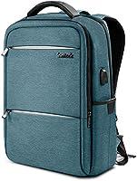 """Inateck 15,6"""" Laptop-Rucksack mit Großer Kapazität, Diebstahlsicherung, kratzfester und strapazierfähiger Notebook-Backpack mit USB-Ladeschnittstelle, inkl Regenschutzhülle"""