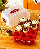 Mrs. Fields Mini Cupcake Carrier