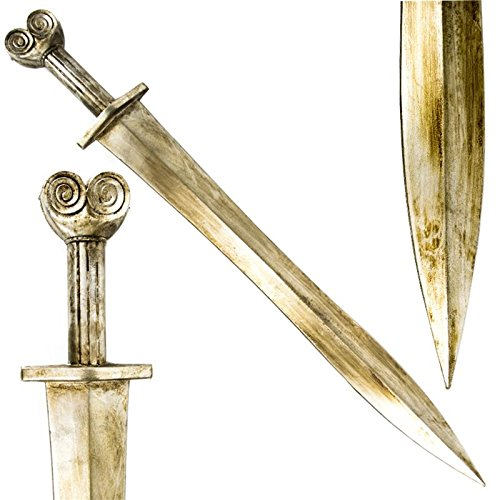Empire Battle Greek Xiphos Foam Latex Sword Cosplay Costume LARP