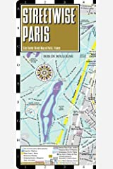 Streetwise Paris Map - Laminated City Center Street Map of Paris, France (Michelin Streetwise Maps) Map