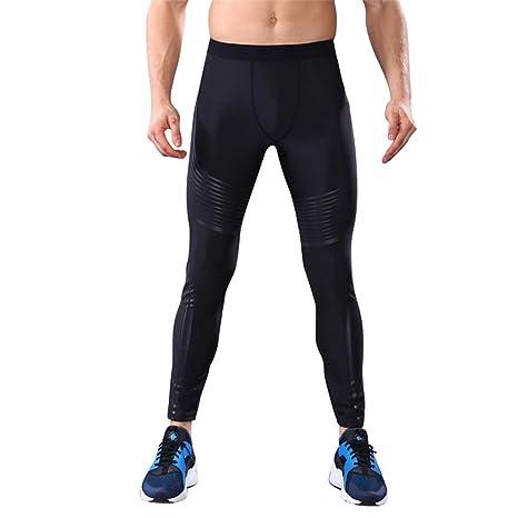 Amazon.com: Fafalisa Men Yoga Pants Running Sports Tights ...
