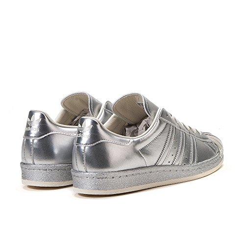 Adidas Originals Womens Superstar W Fashion Sneaker (donna 8, Argento / Mono)