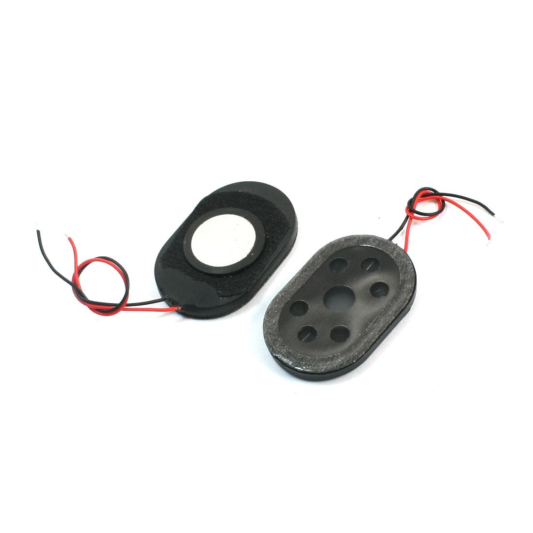 Sourcingmap/® 2Stk 1W 8 Ohm Oval Form GPS Navigator Magnet Verst/ärker Trumpete 30mm x 20mm de