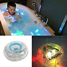 Tub Lights Toy, Light-Up Toy Bath Water LED Lights Colorful Waterproof Toys for Kids, Bathroom Toy for Kids Durable Floating Safe for Baby Toddler Toys