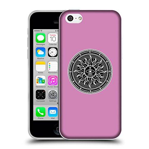 GoGoMobile Coque de Protection TPU Silicone Case pour // Q08230618 Mystique occulte 2 Bronze // Apple iPhone 5C