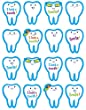 Creative Teaching Press I Lost a Tooth! Stickers (4379)