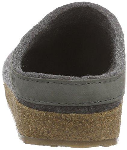 Unisex Pantofole 4 grau Anthrazit Grigio Haflinger adulto Torben Grizzly pZtwAt