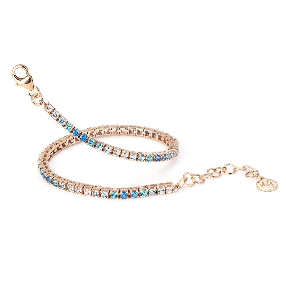 VIVALAGIOIA Portofino Tennis Bracelet (Blue Multi)
