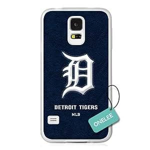 diy case - MLB Team Detroit Tigers Logo Samsung Galaxy S5 Case & Cover - Transparent plastic