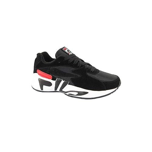 Zapatillas Deportivas para Hombre FILA MINDBLOWER WMN en Cuero Negro 1010603-014: Amazon.es: Zapatos y complementos