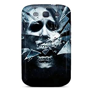 Top Quality Rugged Skull Case Cover For Galaxy S3