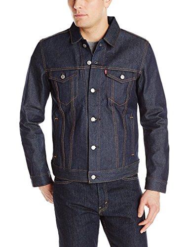 Levi's Men's The Trucker Jacket, Rigid Two, XXL