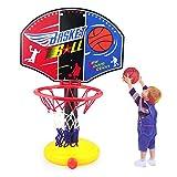 FANMURAN Adjustable Basketball Hoop Net Rack For Childrens Indoor Outdoor Activity