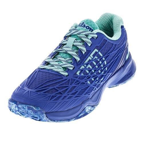 Wilson Kaos Women's All Court Tennis Shoe-10 B(M) US-Amparo Blue/Surf The Web/Aruba Blue