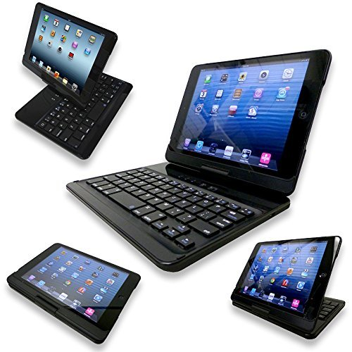 Amazon com: NEW Flip Turn Case Backlit for iPad Mini, Mini 2