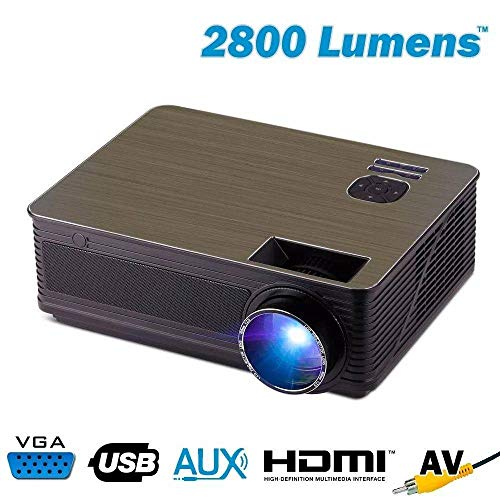 EXBOMPJ-V220 PROJETOR DE LED COM MULTIMIDIA 2800 LUMENS HDMI/AUX/USB/VGA