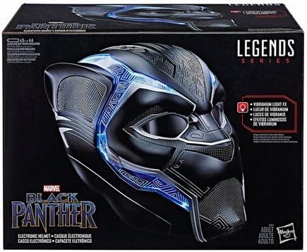 『ブラックパンサー』【ハズブロ レプリカ】「レジェンド」ブラックパンサー ヘルメット