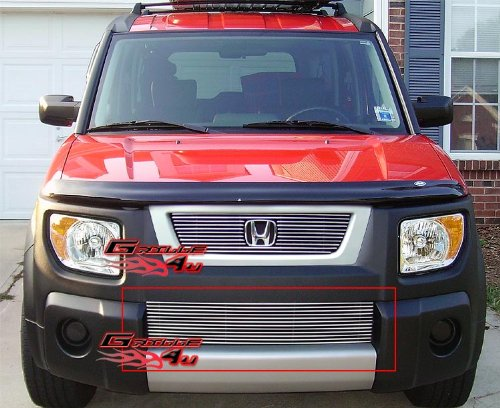 APS Fits 2003-2006 Honda Element Lower Bumper Billet Grille Insert #N19-A20178H