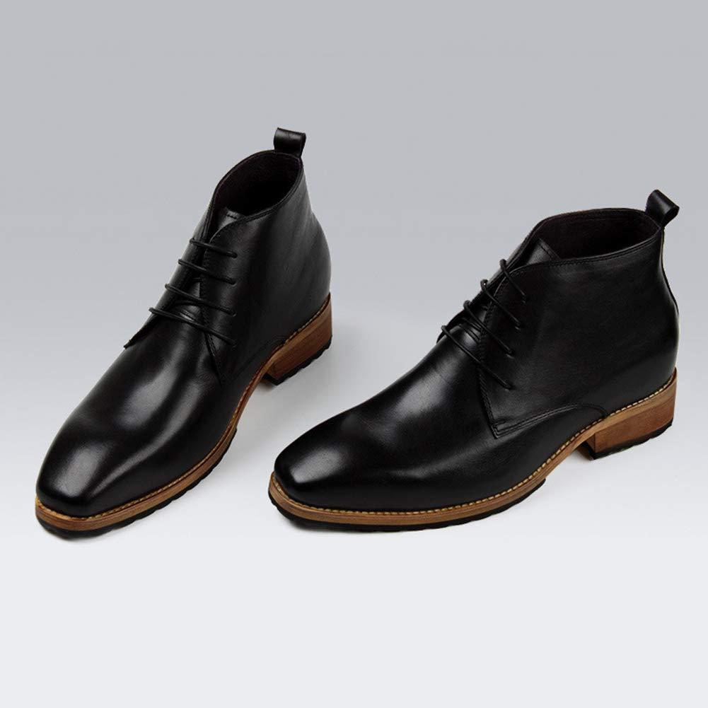 Herren Lederschuhe Herren Herren Herren Kleid Schuhe Schnür-Komfortable Classic Formal Business Kleid Schuh, wies Schuhe Kalbsleder Schuhe für Männer, versteckte Aufzug Schuhe Herrenschuhe a4571a
