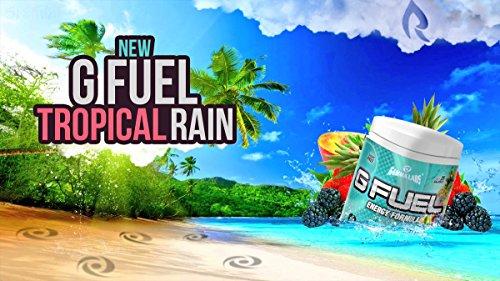 Gamma Labs G Fuel Tub Elite Energy and Endurance Formula, Tropical Rain, 9.8 Ounce