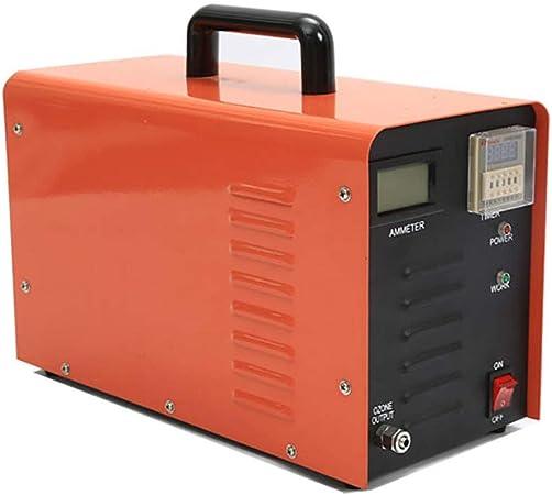 Generador De Ozono, Purificador De Aire Industrial Máquina De Desinfección De Generador De Ozono Tanque De Peces Además De Tratamiento De Aguas Residuales Con Formaldehído Para Reducir La DQO,3G / H: Amazon.es: