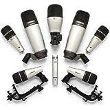Samson 8kit 8-Piece Drum Microphone Set