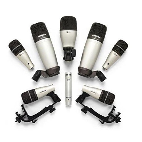 8 Piece Drum Mic (Samson 8kit 8-Piece Drum Microphone)