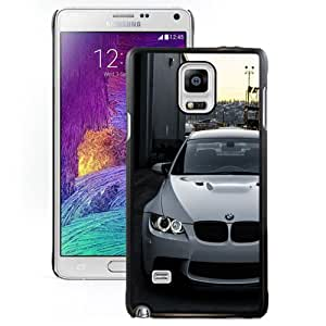 Beautiful Custom Designed Samsung Galaxy Note 4 N910A N910T N910P N910V N910R4 Phone Case For White BMW M3 E92 Front Phone Case Cover