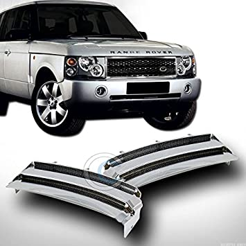 Range Rover Air Intake Side Vents Hse Chrome Grille Fits 03