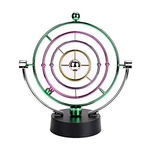 Ghazzi Physics Science Electronic Perpetual Motion Desk Toy Developmental Intelligence Toy for Kids Puzzle Educational Learning Toy Growing Experiment Gift Toy Pretend Toy Toddlers Toy - Rising Board Museum