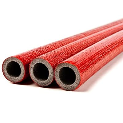 10 Meters of 28mm Extra Strong Pipe Foam Insulation Lagging Wrap 6mm Thick