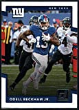 #1: 2017 Donruss #247 Odell Beckham Jr. New York Giants Football Card