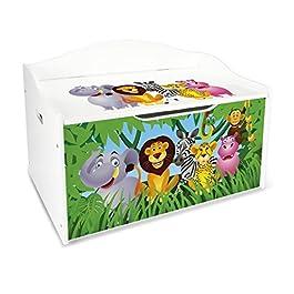 caja guarda juguetes de animales