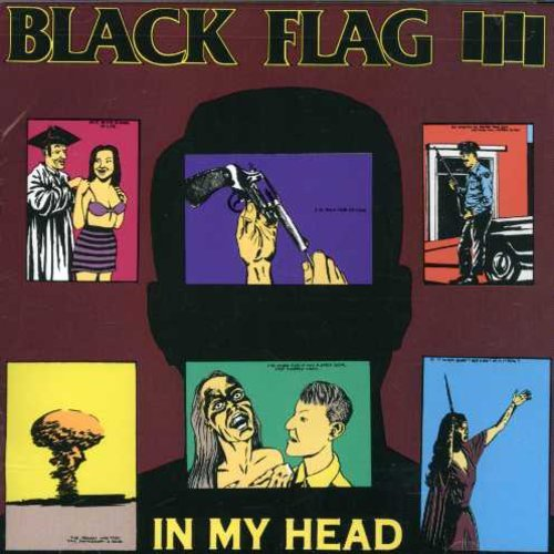 CD : Black Flag - In My Head (CD)