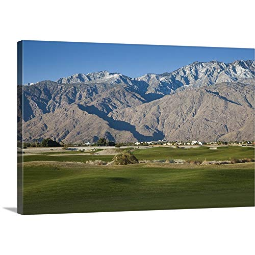 GREATBIGCANVAS Gallery-Wrapped Canvas Entitled Desert Princess Country Club, Palm Springs, Riverside County, California by 60