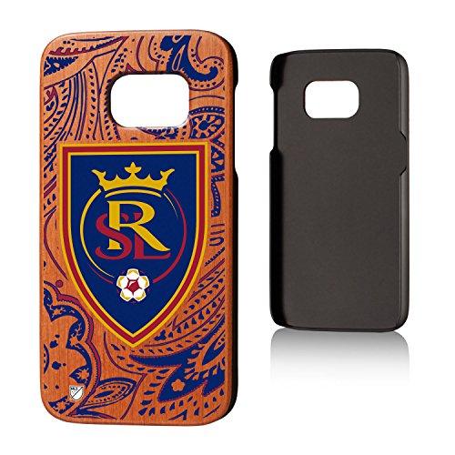 Keyscaper MLS Real Salt Lake Paisley Cherry Case for Galaxy S7, Wood by Keyscaper