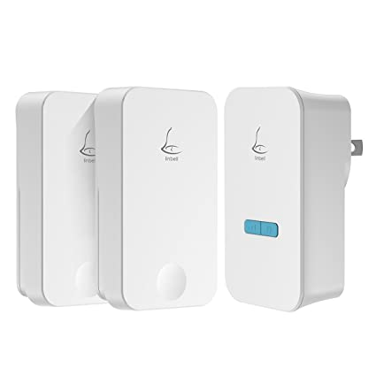 Linbell Self Powered Wireless Doorbell, No Batteries Required For Remote  Button And Door Chime,